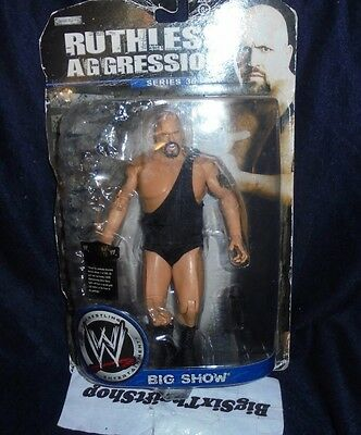 Wwe wrestling figure big show ruthless aggression 36