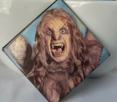 Vintage Ozzy Osbourne Pin Button Bark at the Moon Large 2x2