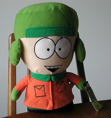 """2008 South Park 12"""" KYLE Plush Comedy Central with Tag Authentic Doll"""