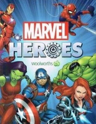 29 Woolworths Marvel Hero Discs Only $20 Includes Postage