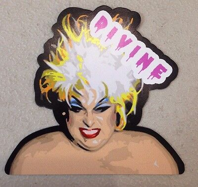Divine Magnet Vinyl Die Cut Decal John Waters* Drag Drag Queens ursula