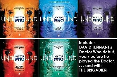 """""""Doctor Who: Unbound"""" (Big Finish Audio CD) the alternate Doctors . . ."""