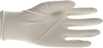 Boss Canada 1UL0004L DISPOSABLE LATEX GLOVES SIZE LARGE SEAMLESS WHITE 100/PACK