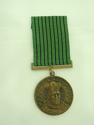 Lithuania Very Rare Medal On Orginal Ribbon. Vf+