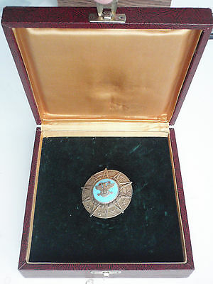 Mexico Order Of The Aztec Eagle 2Nd Class. Silver. Marked. Cased. Ef