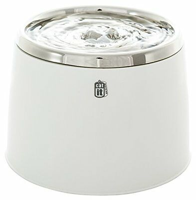 Catit Fresh & Clear Stainless Steel Top Drinking Fountain, 64 fl. oz.