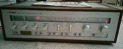 NICE Vintage Yamaha CR-820 Receiver - Natural Sound Stereo with Manual