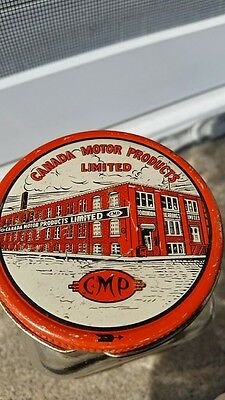 Canada Motor Products Limited CMP Glass Parts Jar