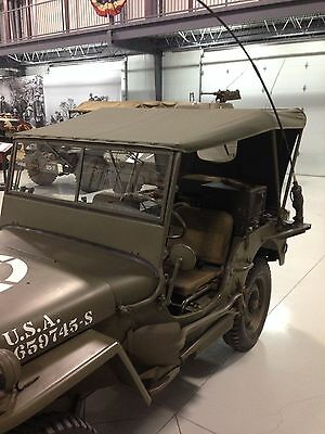 Jeep Willys MB Ford GPW  Canvas Summer Top G-503