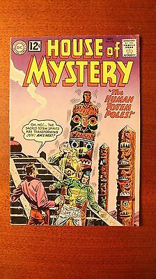 """House Of Mystery #126, """"The Human Totem Poles"""" 1962,  7.0 grade"""