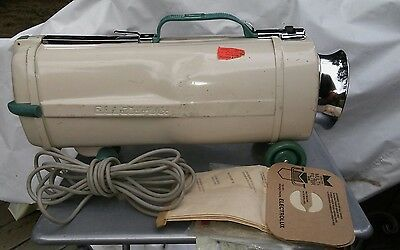Vtg ELECTROLUX VACUUM CLEANER ~ Model L Canister Only, Tested + 3 Bags Cord