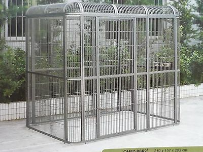 Brand New * Large Bird Cage Parrot Walk in Aviary 200(H)x220(L)x160(W)cm * ED57