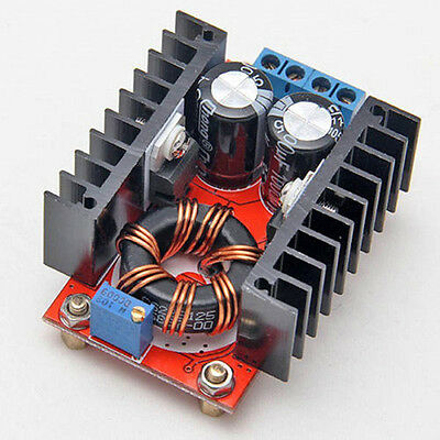 1X 150W DC-DC Boost Converter  Adjustable 10-32V to 12-35V 6A Step Up Module New