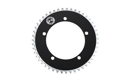 AngelFall Bicycle Chainring BCD130 Black 49T fits Sugino, Sram, Shimano