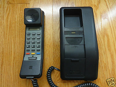 Northern Telecom Black SYMPHONY Telephone 1992 TESTED 100% Works Great! Clean