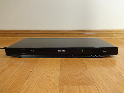 Philps BDP3406 Blu-Ray DVD/CD Player HDMI Output TESTED 100% Works Great!