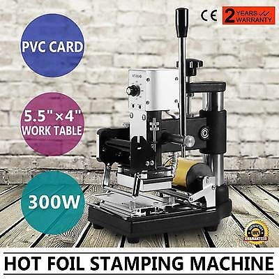Hot Foil Stamping Machine Stainless Steel Craft Box Gilding Tipper Embossing
