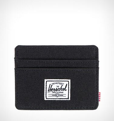 Herschel Supply Co Card Holder Charlie Card Wallet - Black