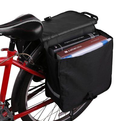 28L Waterproof Bike Bicycle Cycling Rear Seat Pannier Bag Trunk Tail Rack Pouch