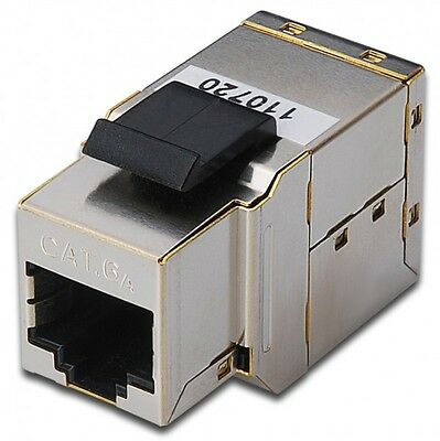 Digitus DN-93906 Modular coupler Kuppler 1-1 RJ45 Cat6a 1xRJ45 to1x RJ45