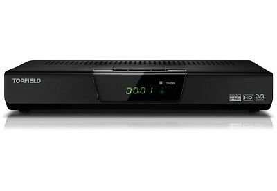 Topfield TF-S3000RHD HD Digital Satelliten Receiver für ORF Karte mit HDMI Kabel