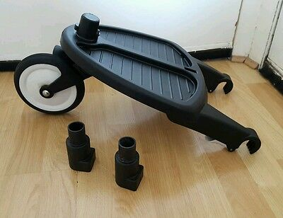 Genuine bugaboo cameleon, frog and gecko wheeled board with adapters #*