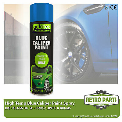 Blue Caliper Brake Drum Paint for BMW 3 Series. High Gloss Quick Dying