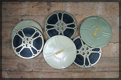 Goldberg Bros. 16mm Film Reels x 3 in Cans - 1600ft Cartoon collection.
