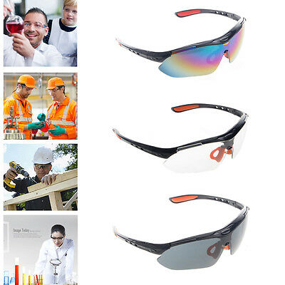 Cycling Goggles Eyewear Glasses Spectacles Work Lab Eye Safety Protection