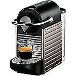 Nespresso by Krups XN300540 Pixie Coffee Machine in Titanium - Brand New in Box