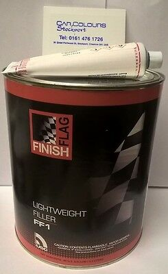 3 Litre Finish Flag Pro Spray Lightweight Filler Easy Sand Bodyfiller Ff1