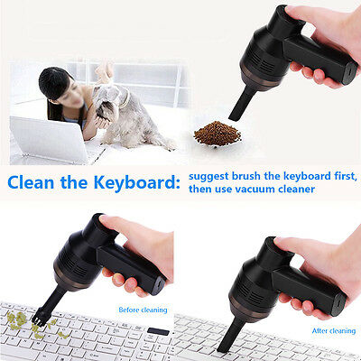 Mini USB Vacuum Dust Collector Keyboard Cleaner Brush for PC Computer Laptop