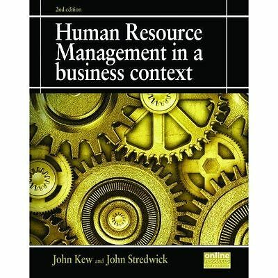 human resource management in a business context pdf