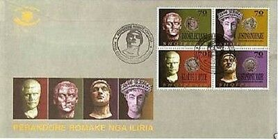 Albania stamps 2003. Roman emperors from Illyria. FDC MNH