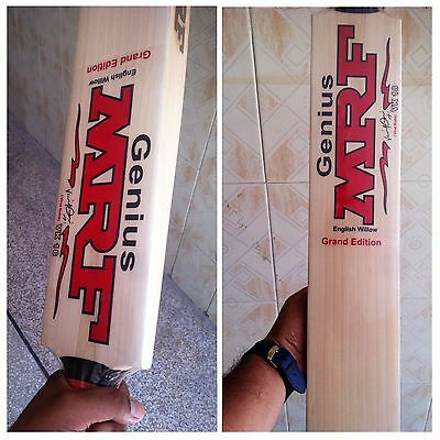 SALE SALE MRF Grand Edition Grade 1 English Willow Cricket Bat, Amazing Pings,