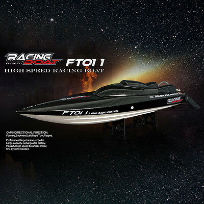 Feilun FT011 2.4G Brushless RC Boat 50km/h RC Barco Con Water Cooling System