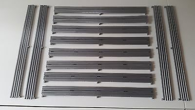 Scalextric 1:32 Sport / Digital Track - L8713 Silver Barriers x 12