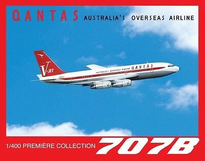 1/400 Dragon Wings #56149 Qantas Boeing 707B N707JT John Travolta