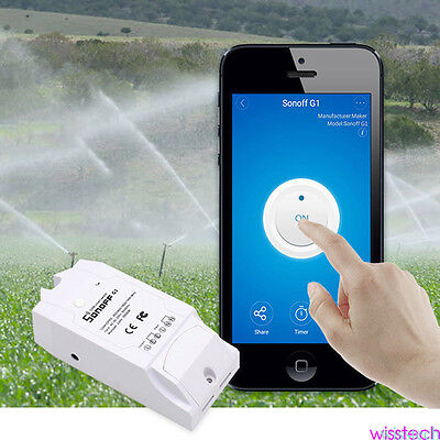 G1 Remote Control Timer Switch WiFi Smart Power Socket Outlet for Cellphone WI1