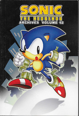 Sonic the Hedgehog Archives Volume 12 TPB 2010 Archie Comics OOP