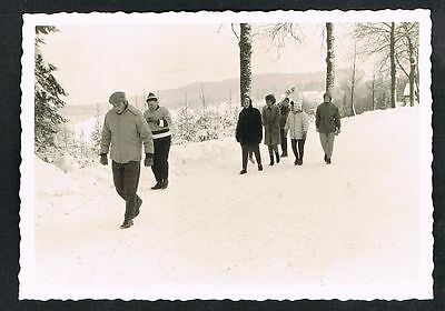 FOTO vintage PHOTO, Winter Schnee Personen, snow people, hiver neige /47