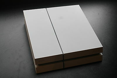 White PS4 with box and original leads