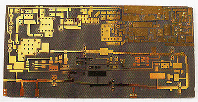 10 GHz beacon PCB Leiterplatte