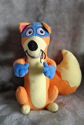 TY Beanie Dora the Explorer  friend SWIPER the orange fox COMBINED P&P
