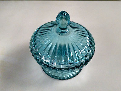 Charming Glass Candy Dish With Lid Excellent