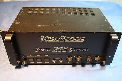 MESA BOOGIE SIMUL 295 STEREO POWER AMP 230V  VOLTAGE Made in U.S.A.