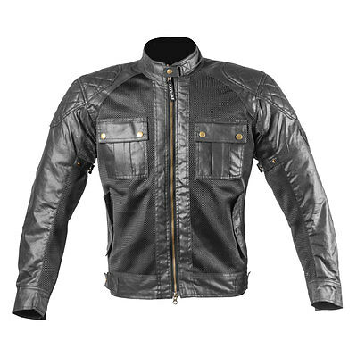 Men Motorcycle & Motorbike Wax Cotton Summer Jackets Sara Moto Bike Jackets