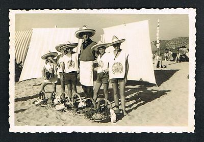 RIMINI, Foto vintage Photo, Personen Strand beach people persons /107