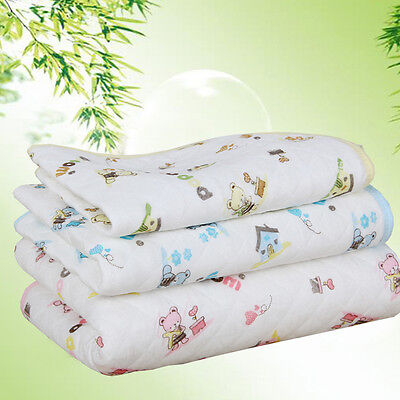 1Pc Changing Mat Urine Mattress Infant Reusable Nappy Waterproof New Baby Pads