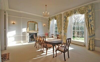 Georgian Style Dining Table and Chairs